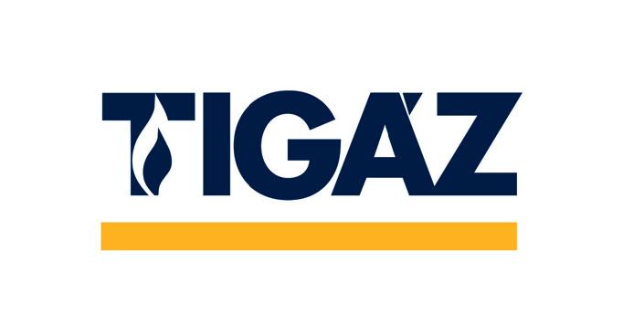 Tigáz logó