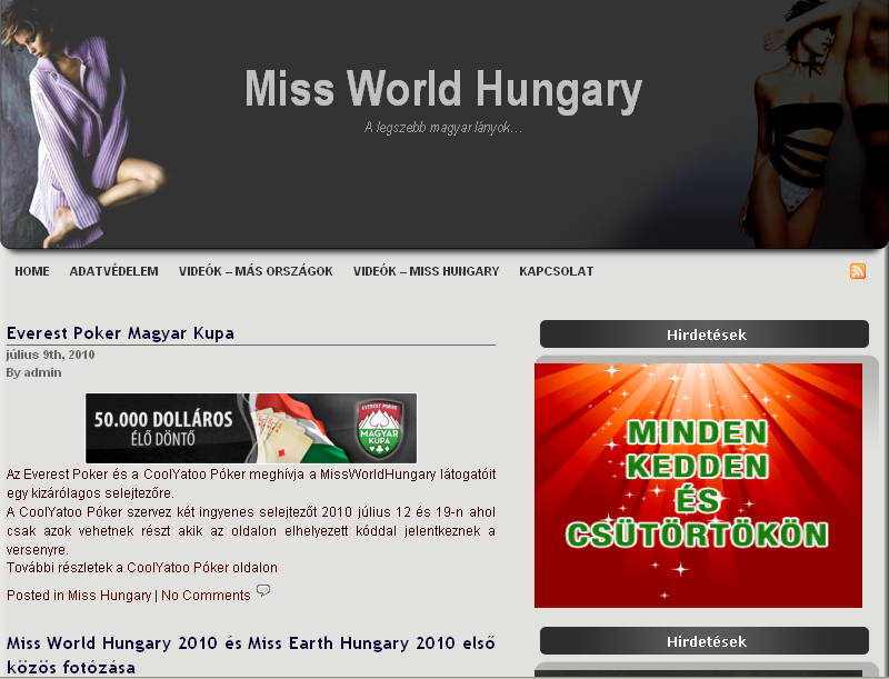 Miss World Hungary