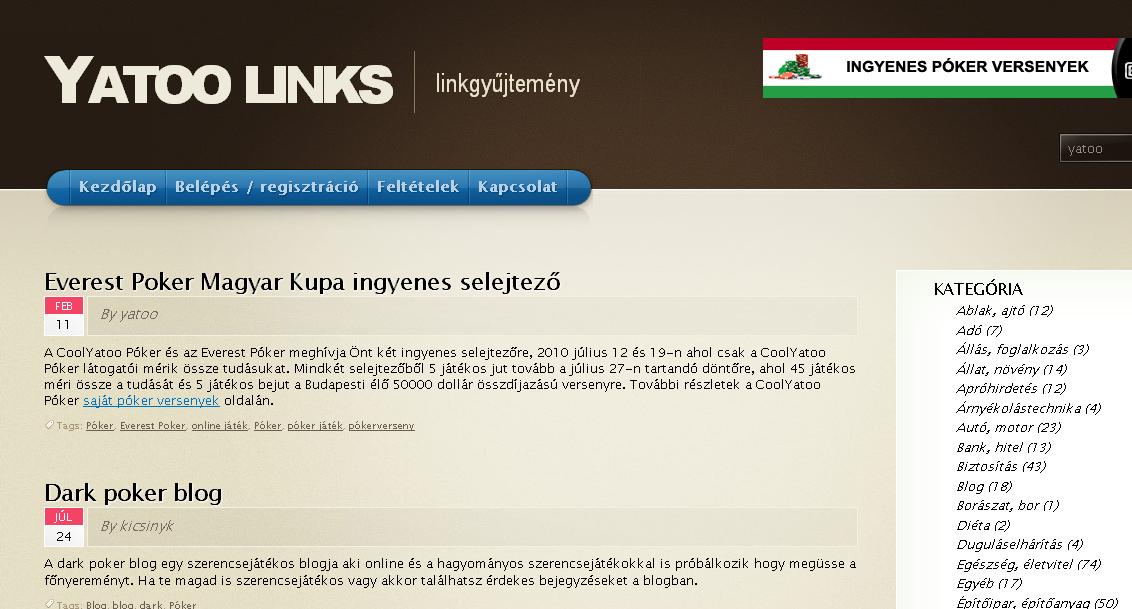 Yatoo Links